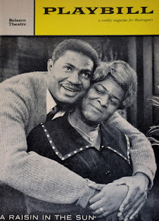 Ossie Davis and Ruby Dee / A Raisin in the Sun / Playbill / 1959
