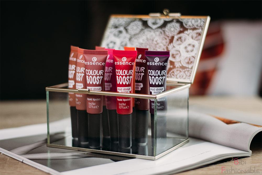 essence coulor boost mad about matte liquid lipsticks Titelbild
