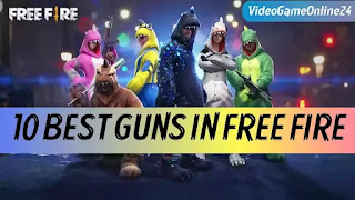 10 best guns in free fire
