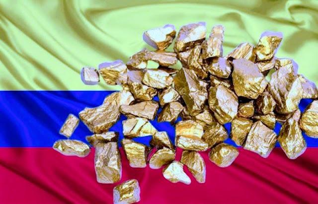 Grupo delictivo en Colombia utiliza oro adulterado para blanquear dinero