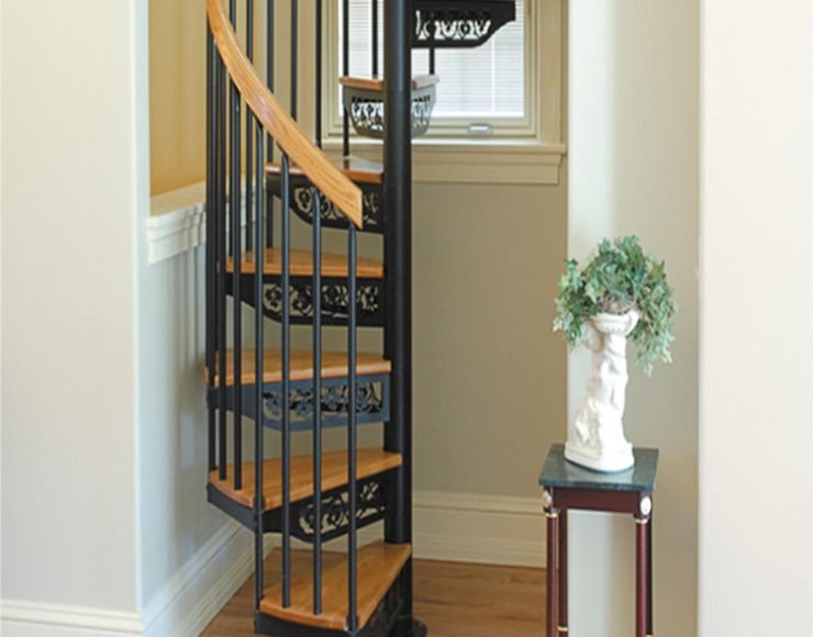 How To Build A Small Spiral Staircase My Staircase Gallery | Spiral Stairs For Small Spaces | Second Floor | Low Budget | Square | Low Cost Simple | Metal