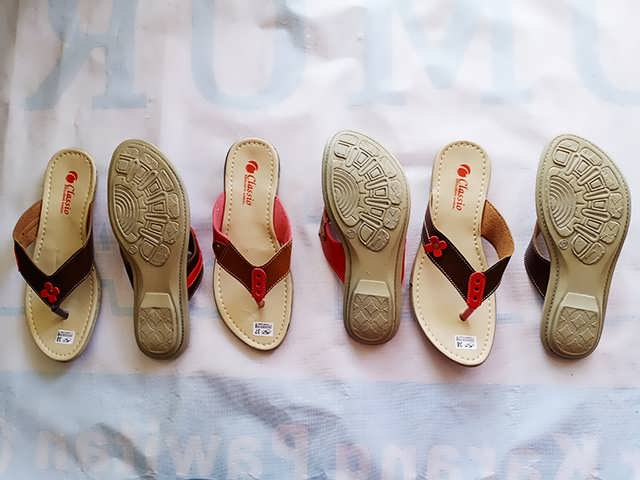 Sandal Imitasi Kulit Wanita Berkualitas - Sandal CS CPC Wanita