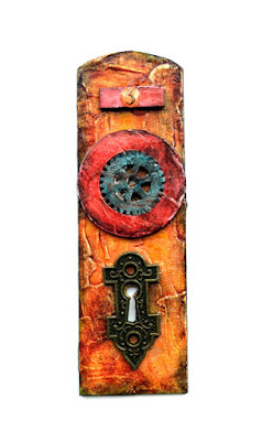 Grungy Yellow Door #3 by Dana Tatar for Tando Creative