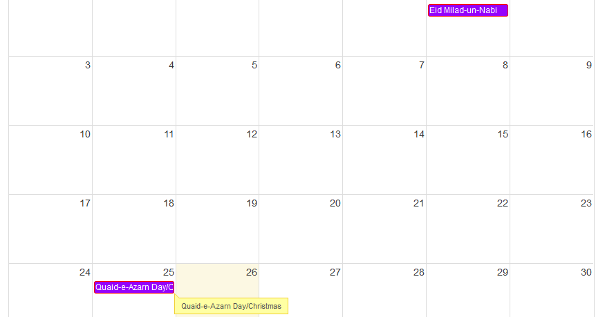 ASP NET MVC5: Full Calendar JQuery Plugin - Asma's Blog