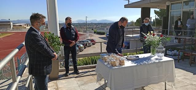 Άργος: Έκοψαν την πίτα τους η διοίκηση και το προσωπικό του ΝΠΔΔ Κοινωνικής Μέριμνας & Αθλητισμού