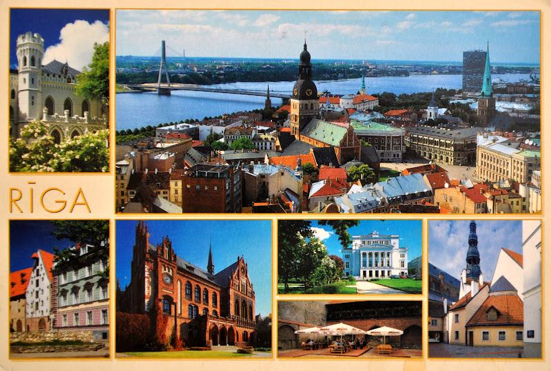 Ryga na Łotwie