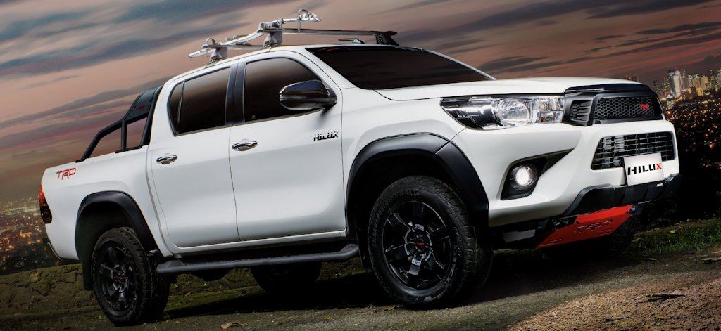toyota motor philippines introduces hilux trd and fortuner trd w price list philippine car. Black Bedroom Furniture Sets. Home Design Ideas