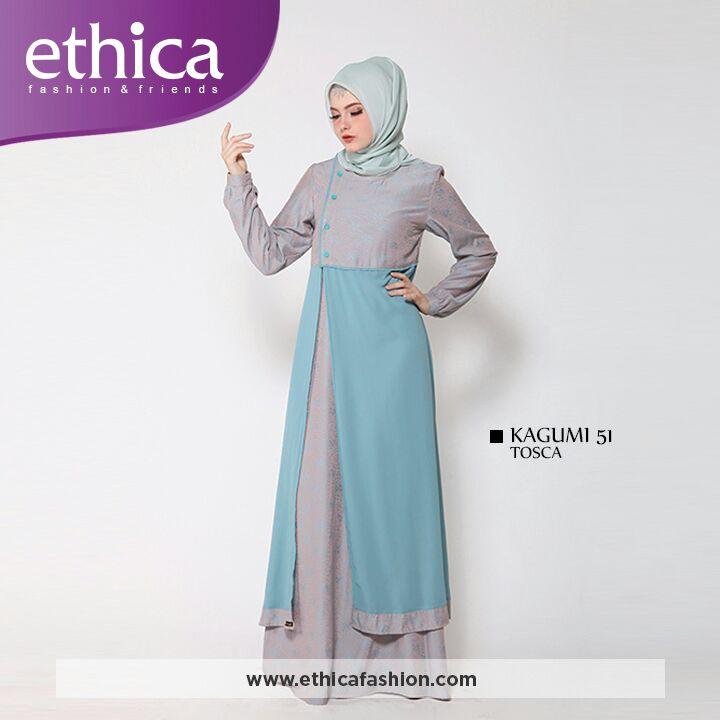 44 Terbaru Baju Gamis Ethica