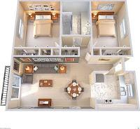 Planos 3D para el hogar