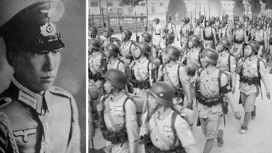 Nazi Kuomintang China Taiwan war military Chiang Kai-shek Gehlen Germany cold war