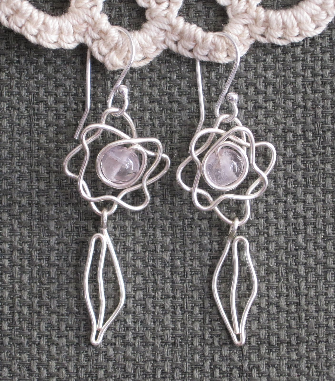 Doodle wire earrings tutorials just for fun the beading for Jewelry just for fun