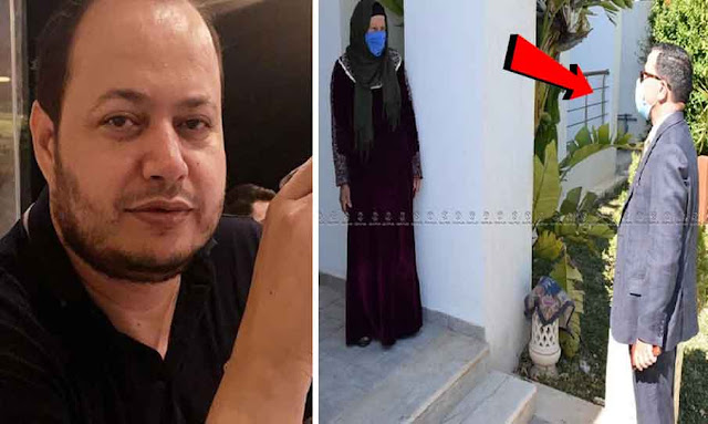 والي زغوان يؤدي زيارة الى والدة سمير الوافي بعد اصابتها بفيروس كورونا
