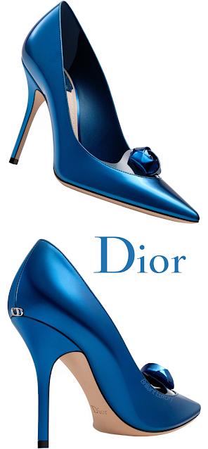 Royal Blue Dior Pumps #brilliantluxury