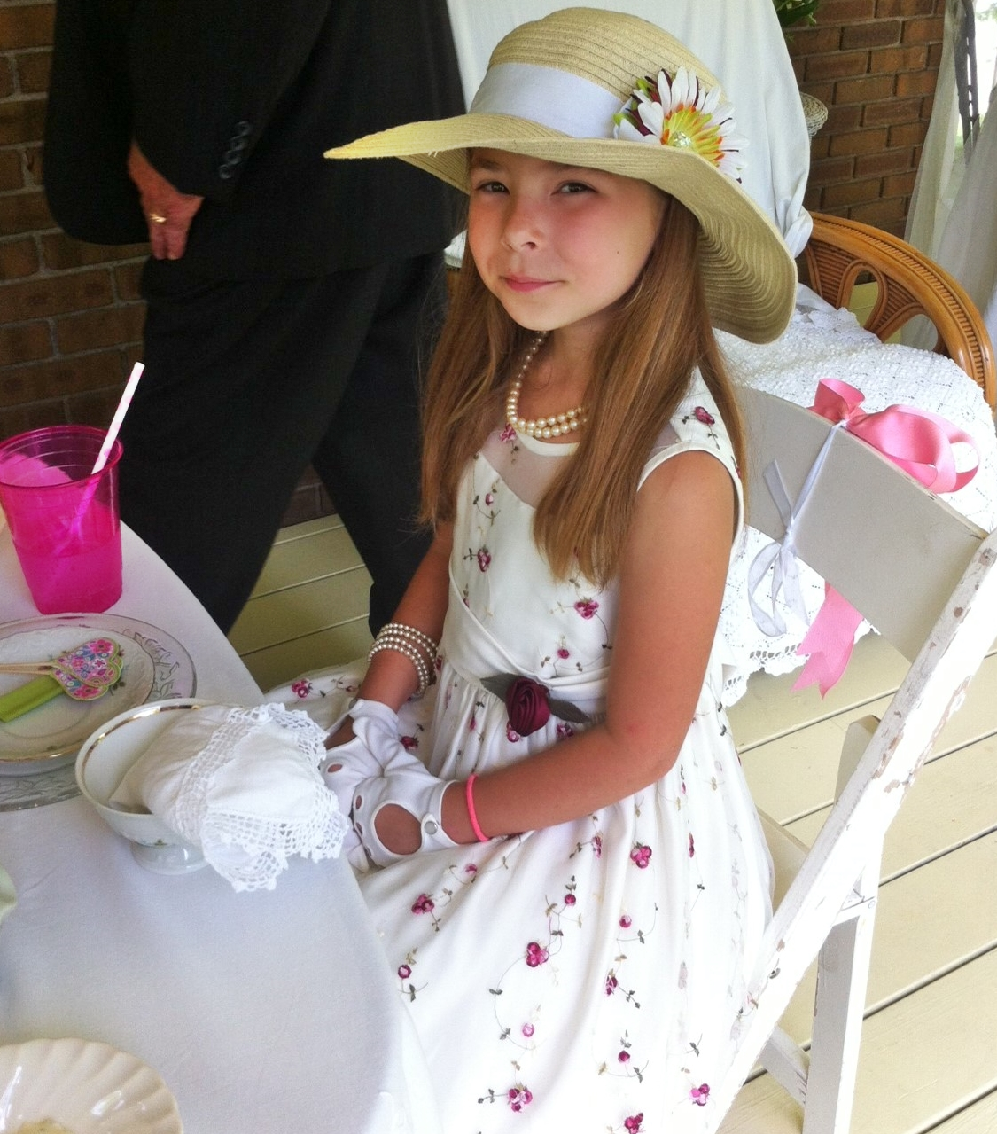 Sissie S Shabby Cottage Little Girls Tea Party