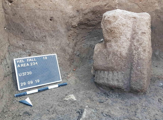 New finds from the ancient Egyptian Temple of Heliopolis