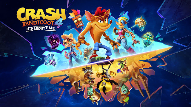 crash bandicoot 4 it's about time ps5 nintendo switch xbox series x platform game n sane trilogy orange marsupial toys for bob activision 2020