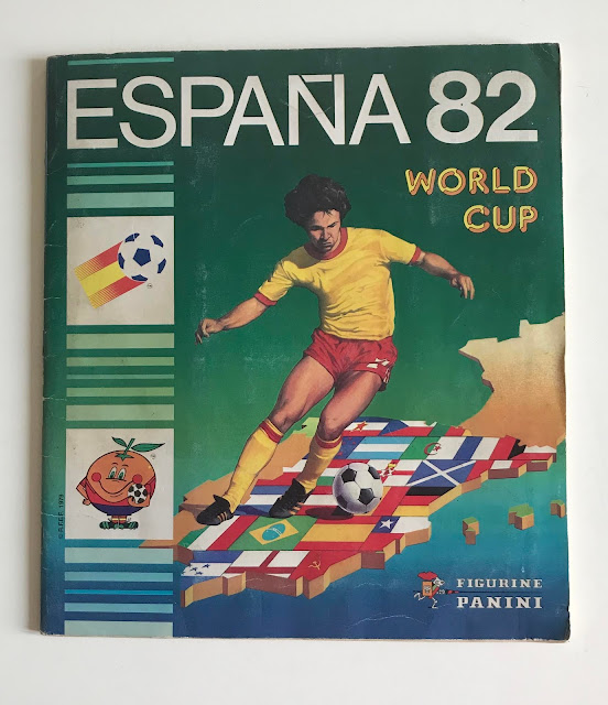 Copertina Album Spagna '82