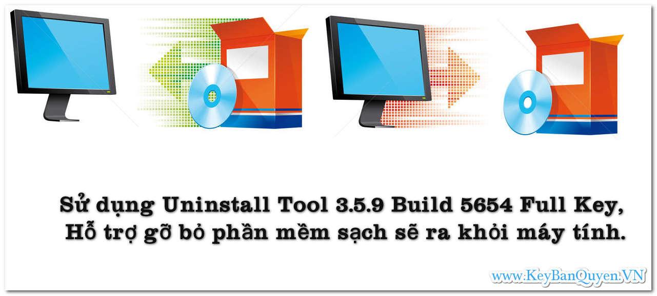 Download và cài đặt Uninstall Tool 3.5.9 Build 5654 Full Key, Hỗ trợ gỡ bỏ phần mềm sạch sẽ ra khỏi máy tính .