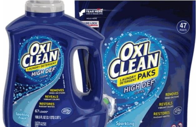 photograph regarding Oxiclean Printable Coupon known as The Concentration Saver: Conserve up towards $4 upon OxiClean Printable Discount coupons