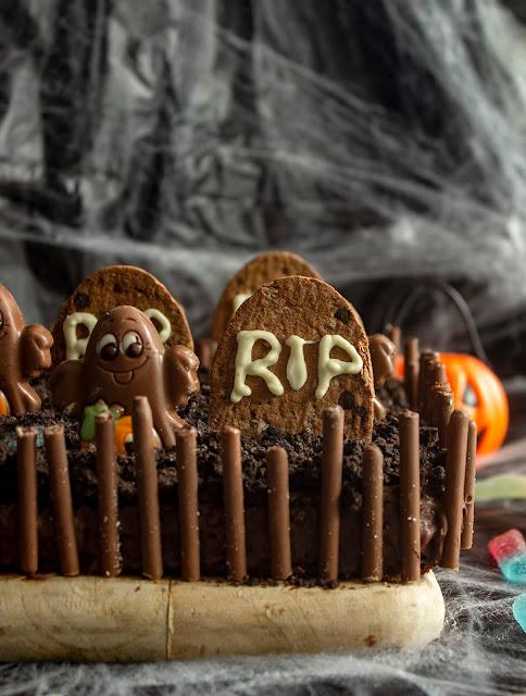 Brownie Cementerio Para Halloween