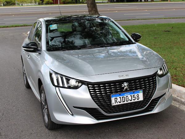Vídeo avaliação - Novo Peugeot 208 2021 Automático