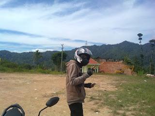 Petualangan dari Kota Bumi menuju Pesisir barat Lampung mantap coy!!!