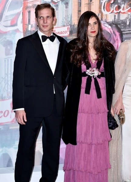 Prince Albert II of Monaco,Princess Caroline of Hanover, Charlotte Casiraghi, Princess Alexandra of Hanover, Beatrice Borromeo-Casiraghi, Pierre Casiraghi, Andrea Casiraghi and Tatiana Casiraghi attend The 62nd Rose Ball