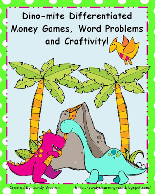 https://www.teacherspayteachers.com/Product/2MD8-Dino-mite-Differentiated-Small-Group-or-Math-Station-Money-Activities-507465