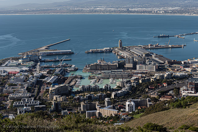 V&A Waterfront view from Signal Hill Vernon Chalmers Photography