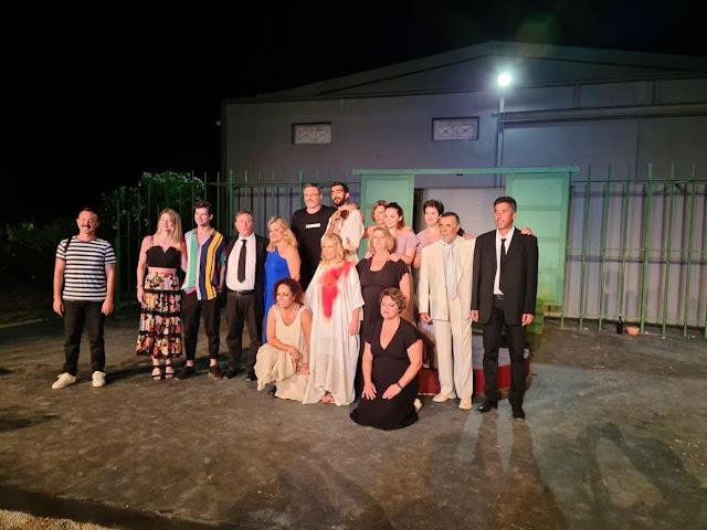 Δύο τελευταίες παραστάσεις για την «Ηλέκτρα» του Σοφοκλή του Θεατρικού Ομίλου Ερμιονίδας