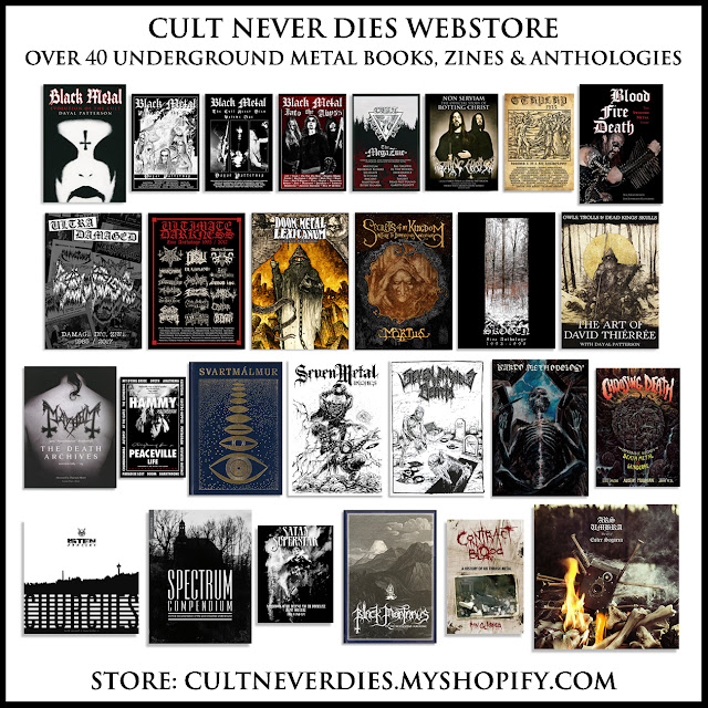 Cult Never Dies Productions: Cult Never Dies - Official black
