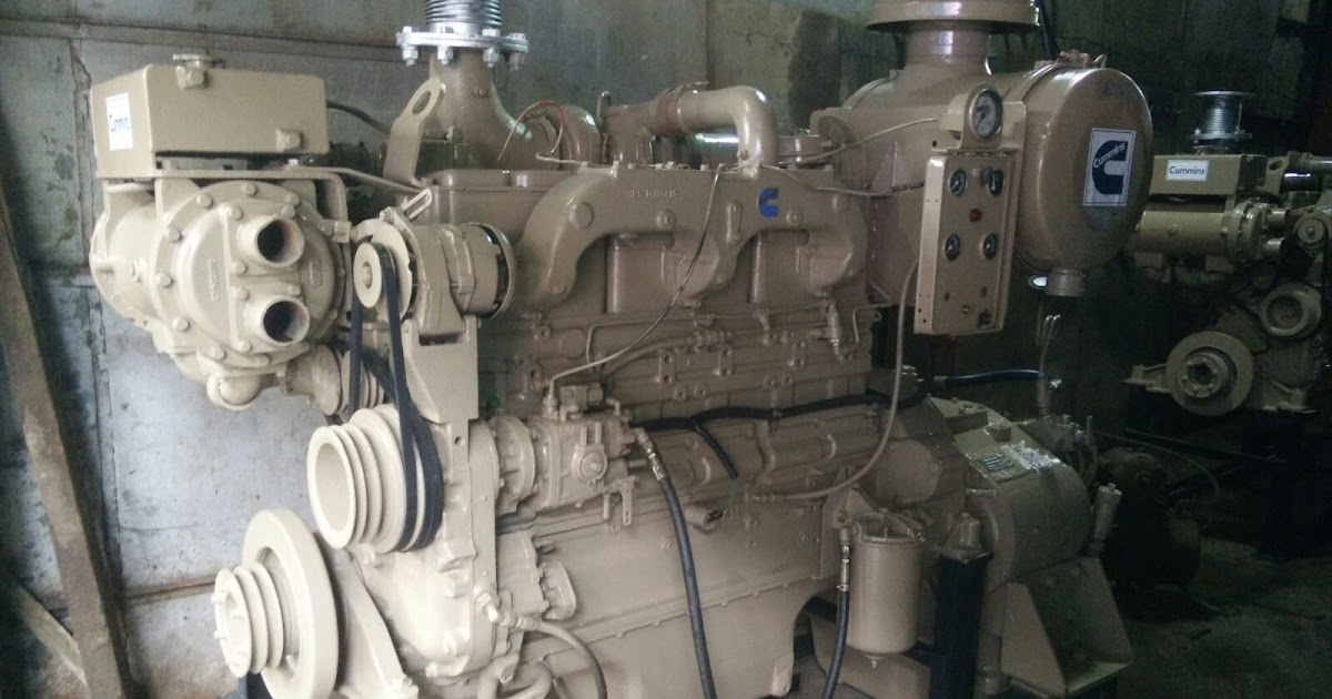 Cummins NTA855 BC Propulsion Engines with Gearbox