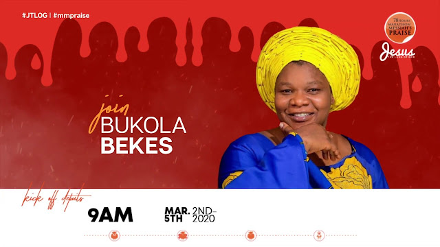 Watch Bukola Bekes Ministration At 78 Hours Marathon Praise 2020