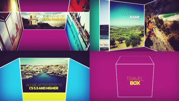 Videohive Travel Opener – Travel Intro 8064260