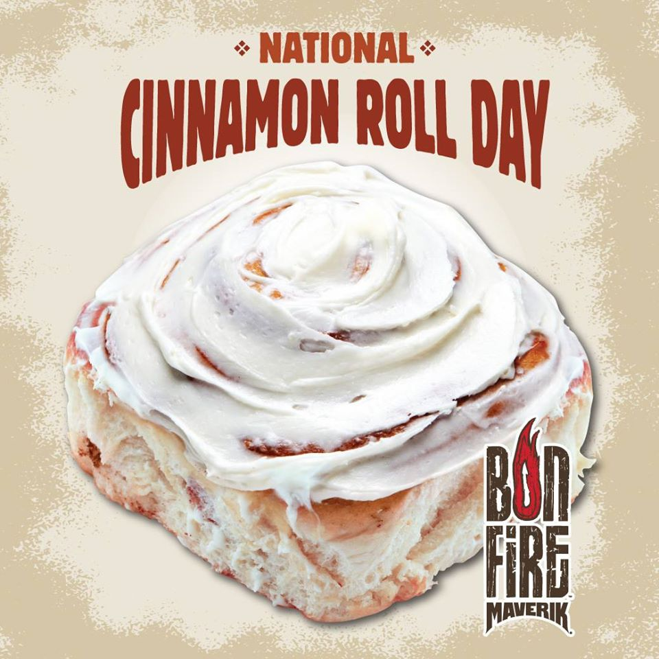 National Cinnamon Roll Day Wishes Pics