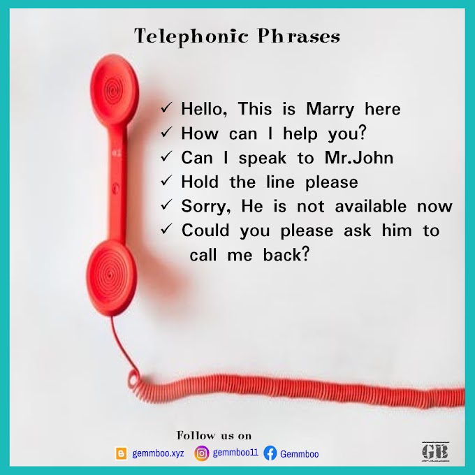 How to speak in Phone Call | Telephonic Phrases | Telephone Conversation  | How to communicate effectively over phone call | Telephonic Interview