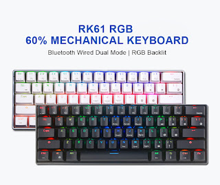 keyboard gaming mechanical terbaik royal kludge rk61