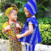 Peter and Paul Okoye's children lovely in traditional outfits (Photos)