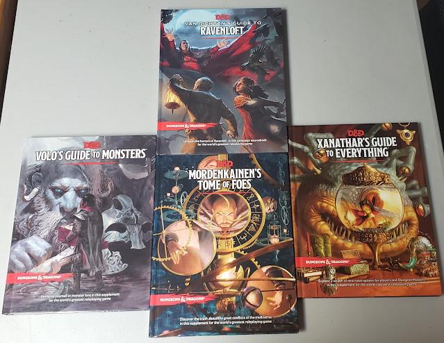 More D&D 5 Books