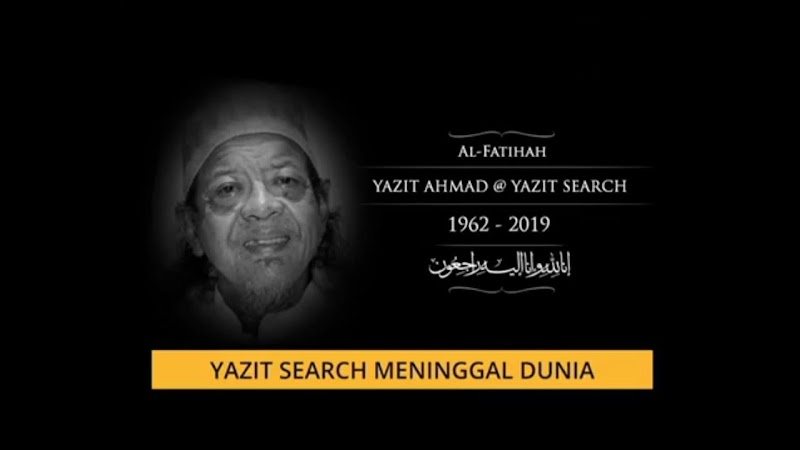 Lagenda Rock Yazit Search Meninggal Dunia