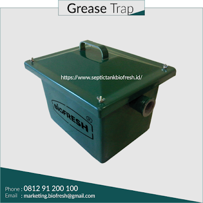 grease trap FRP