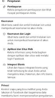 cara mengganti password facebook via ponsel, source: omahinfo