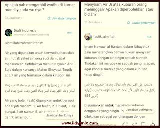 channel tanya jawab fiqih islam aplikasi umma