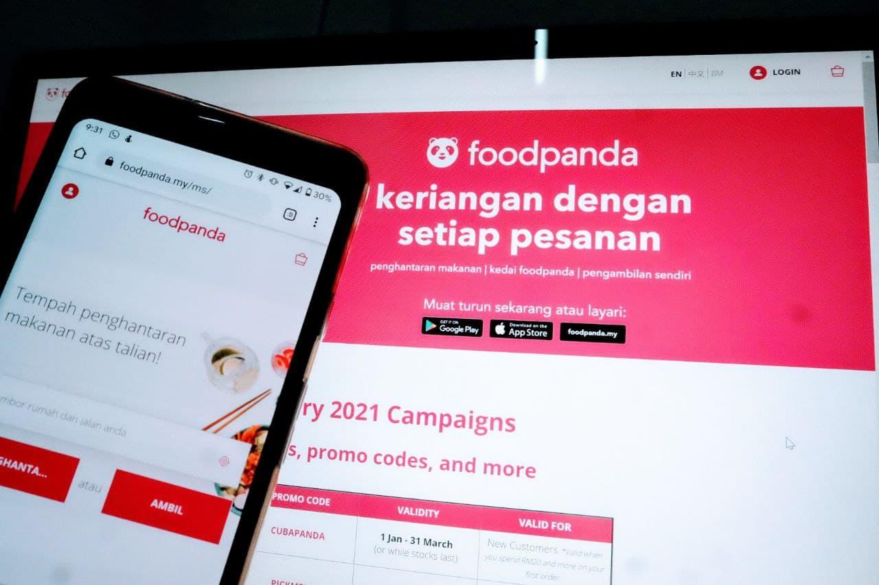 Senarai Penuh Voucer Code Foodpanda Untuk Bulan Mac Tahun 2021