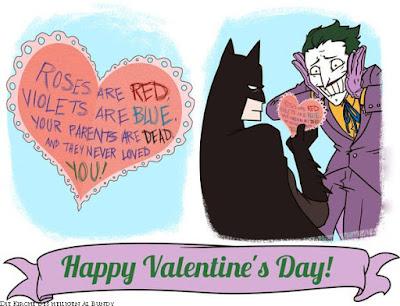 Lustige Valentinstags-Karte mit Spruch zum lachen