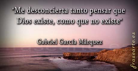 Gabriel García Márquez frases famosas