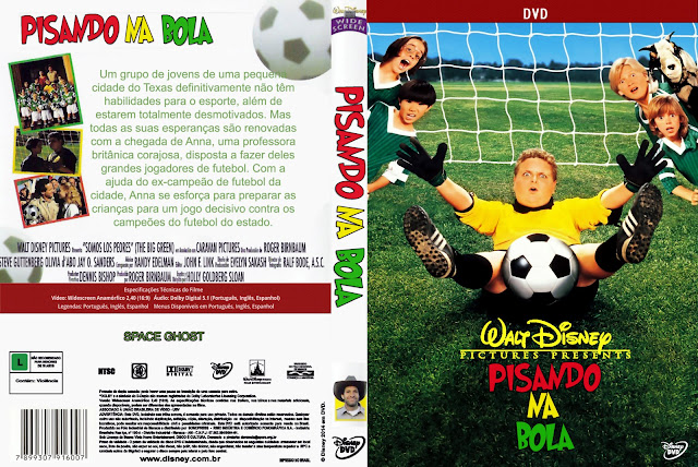 Capa DVD Pisando Na Bola