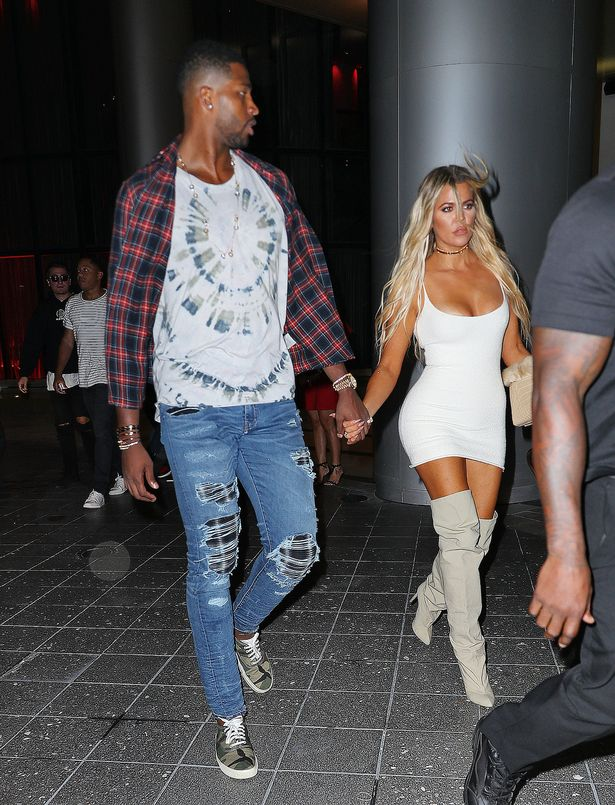 Khloe Kardashian has made it official with NBA star Tristan Thompson.
