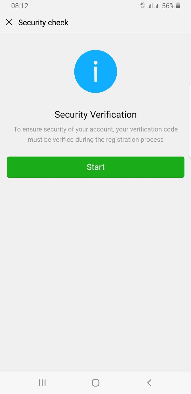 cara melewati gagal security check