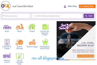 Situs olx - tips trik memasang iklan di olx by rev-all.blogspot.com